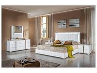 H2O: San Marino: кровать 180х200 с подсветкой (white)