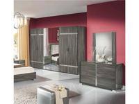 H2O: San Marino: шкаф 6-ти дверный модульный (grey)