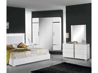H2O: San Marino: шкаф 6-ти дверный модульный (white)