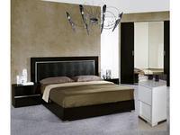 H2O design: Noemi: кровать 160х200 (bianco lucido)