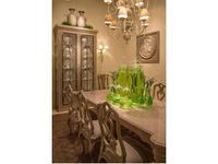 Guadarte: Bronce: витрина 2-х дверная  (beige verde)