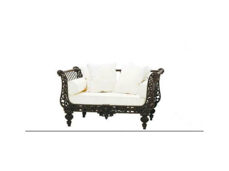Guadarte: Oro: диван  (белый, коричневый)
