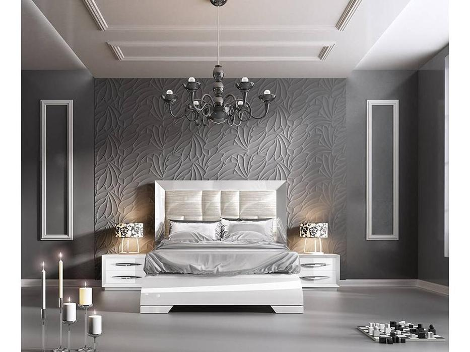 Franco Furniture: Carmen: кровать 180х200 (white)