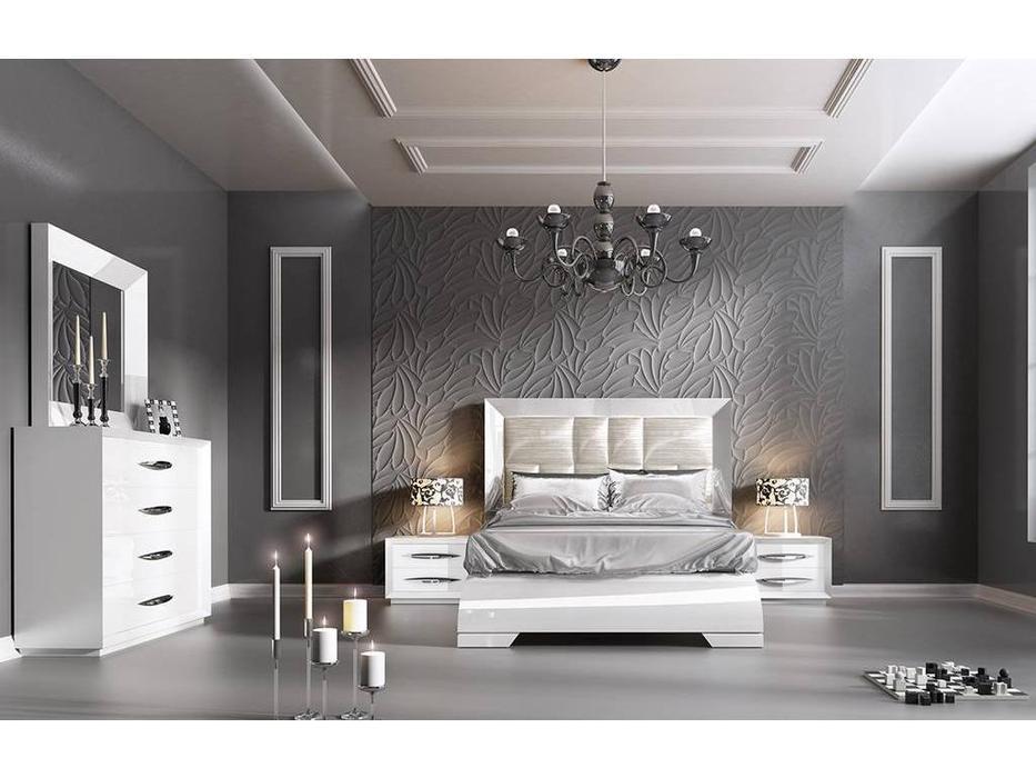 Franco Furniture: Carmen: спальная комната (white)