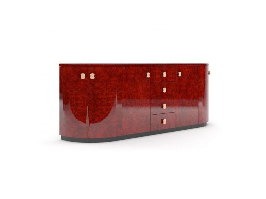 PEGASO: Romano: шкаф для документов низкий с ящиками (орех)