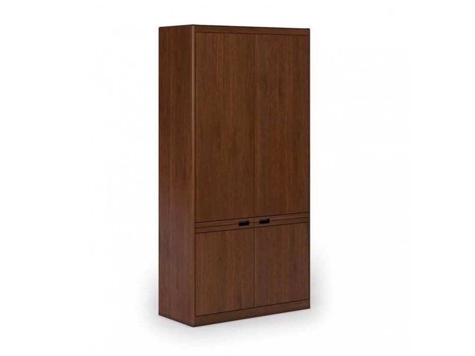 MUX: Mux-3: шкаф 2-х дверный  для док-ов (американский орех)