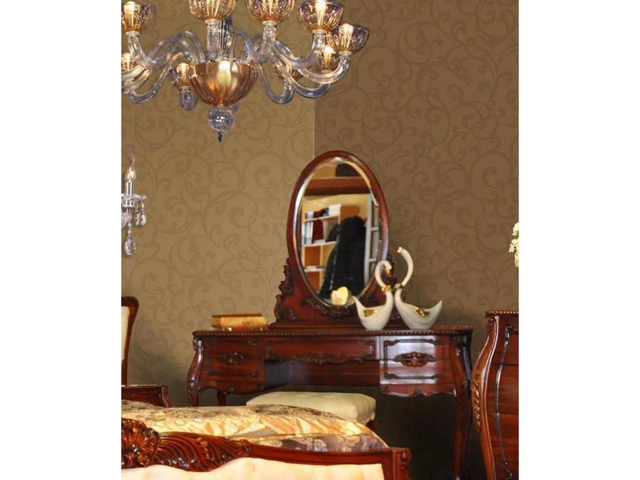 Perfect furniture: Mahogany: зеркало для туалетного стола (орех)