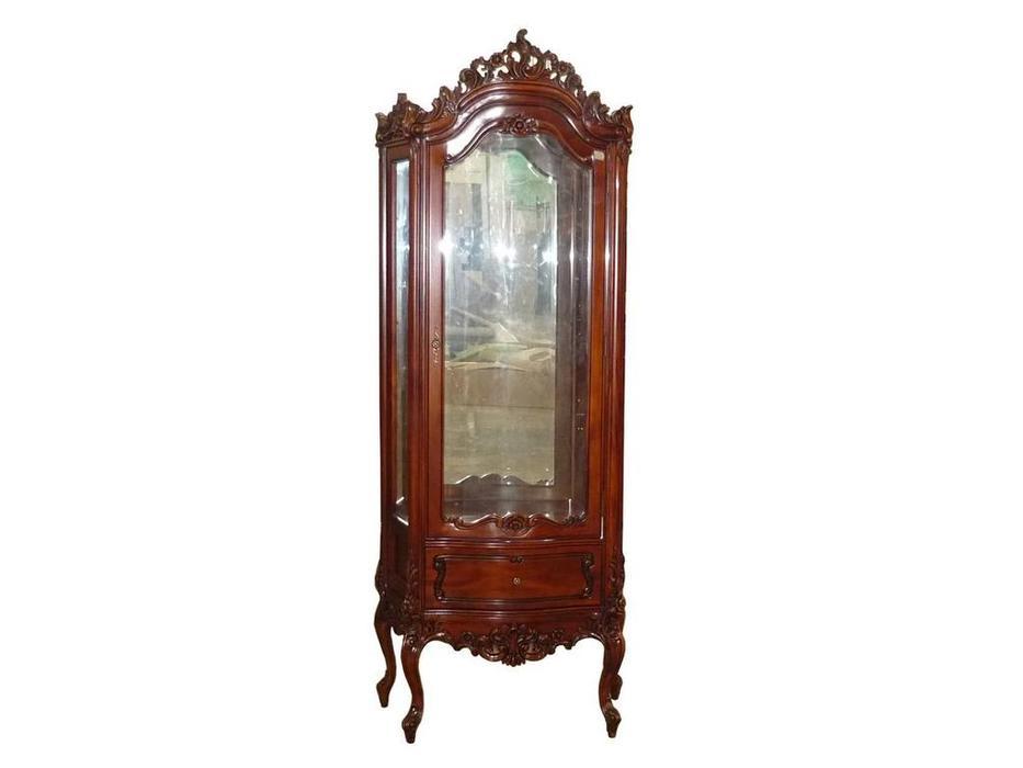 Perfect furniture: Mahogany: витрина  (дерево)