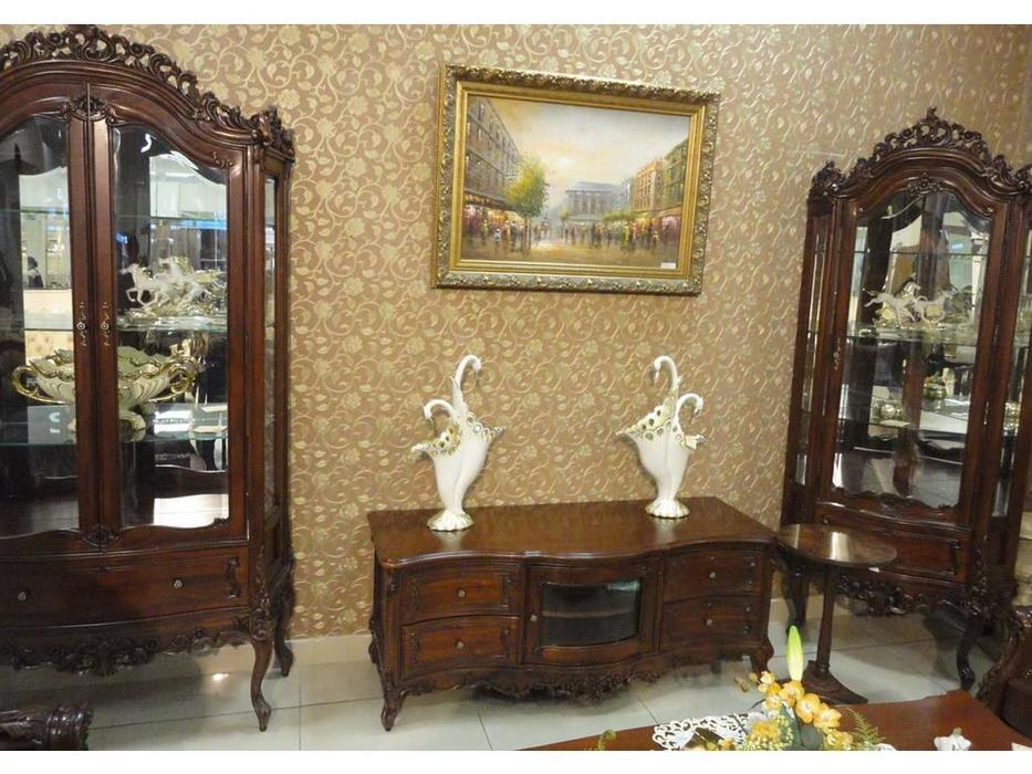 Perfect furniture: Mahogany: тумба под телевизор  (дерево)