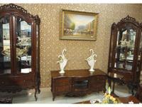 5208551 тумба под телевизор Perfect furniture: Mahogany