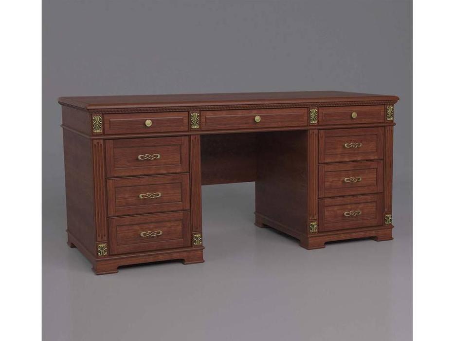 Arco: Decor: стол письменный  (орех, золото)