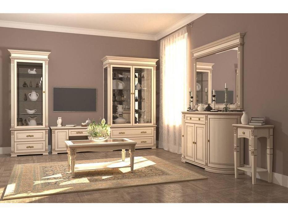 Arco: Decor: гостиная (беж, коричневая патина)