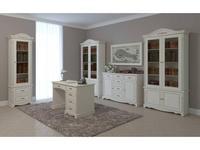 Arco: Esperansa: кабинет домашний (белый, патина- коричневая)