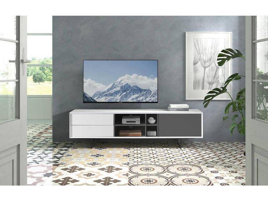 Dupen: тумба под телевизор  (белый)