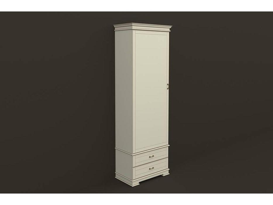 Arco: Comfort: шкаф 1-дв.  (бежевый, коричневая патина)
