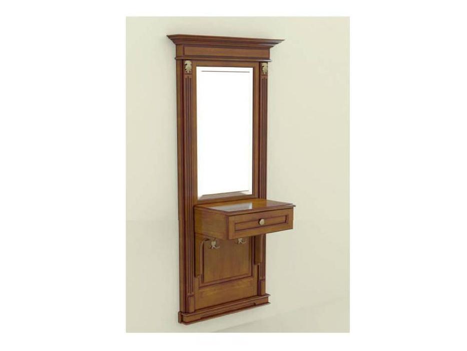 Arco: Classica Prestige: панель  - зеркало с консолью (орех)