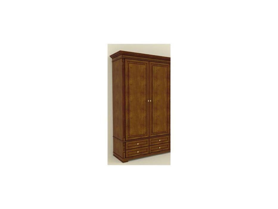 Arco: Classica: шкаф 2 дверный  (орех)