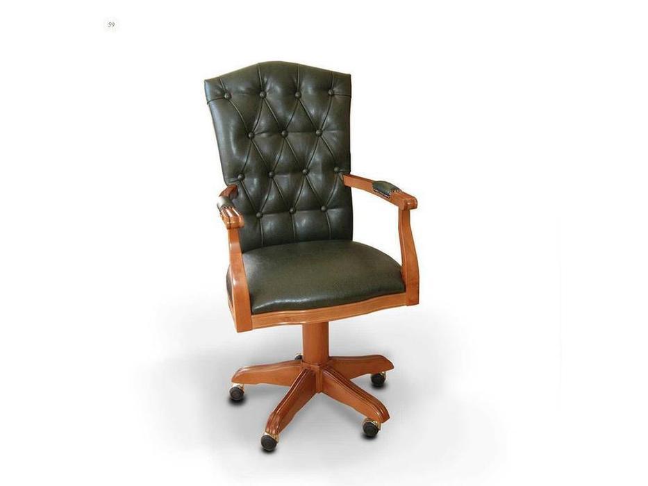 DeMiguel: Exclusive: кресло вращающееся  (орех, кожа)