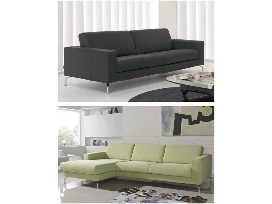 Gamamobel: Abarth: диван 3-м  (кожа Luxe)