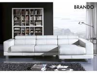 Gamamobel: Brando: диван угловой (кожа Luxe)