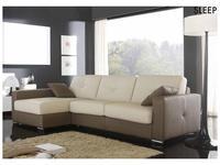 Gamamobel: Sleep: диван угловой с раскладушкой  (кожа Luxe)