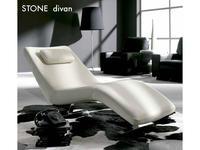 Gamamobel: Stone: шезлонг  (кожа Luxe)