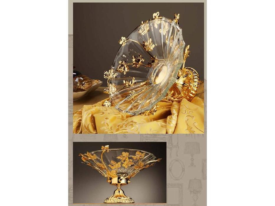 DC: Primula: ваза  (золото, стекло)