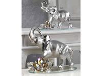 DC: Elefante: статуэтка  Слон (серебро, кристаллы)
