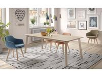 Mobliberica: Merlot: стол обеденный на 8 человек  (керамика)