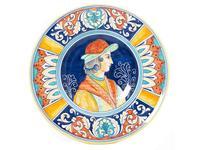 L Antica Deruta: Museo: тарелка декоративная 30 см (керамика)