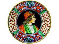 L Antica Deruta: Museo: тарелка декоративная (керамика)