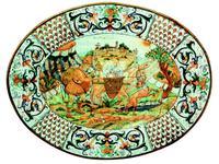 L Antica Deruta: Museo: тарелка декоративная Il Viandante (керамика)