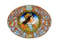 L Antica Deruta: Museo: тарелка декоративная овальная (керамика)