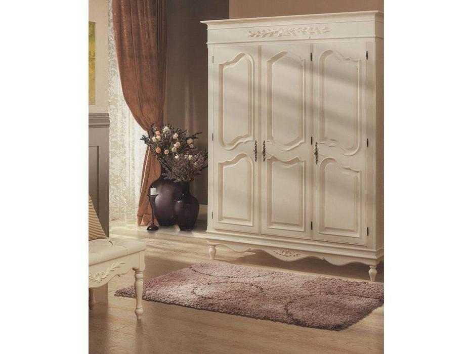 Bianca Ferrari: Provence: шкаф 3-дв.  (слоновая кость)