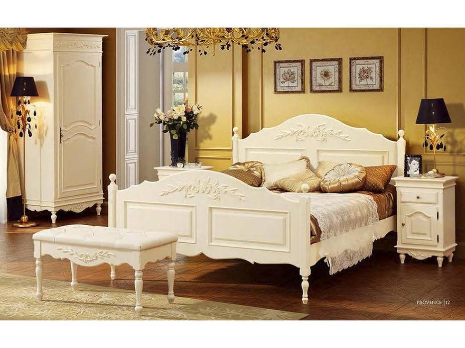 Bianca Ferrari: Provence: кровать 120х200  с выс.изножьем (слоновая кость)