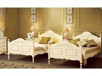 Bianca Ferrari: Provence: кровать 180х200  с выс.изн. (слоновая кость, золото)