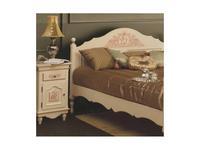 Bianca Ferrari: Provence: тумба прикроватная  (слоновая кость, золото, роспись)