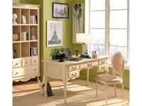Bianca Ferrari: Provence: стол письменный  (сл кость, золото, роспись)