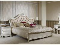 AV: Кармен: кровать 180х200  (белый с серой текстурой)