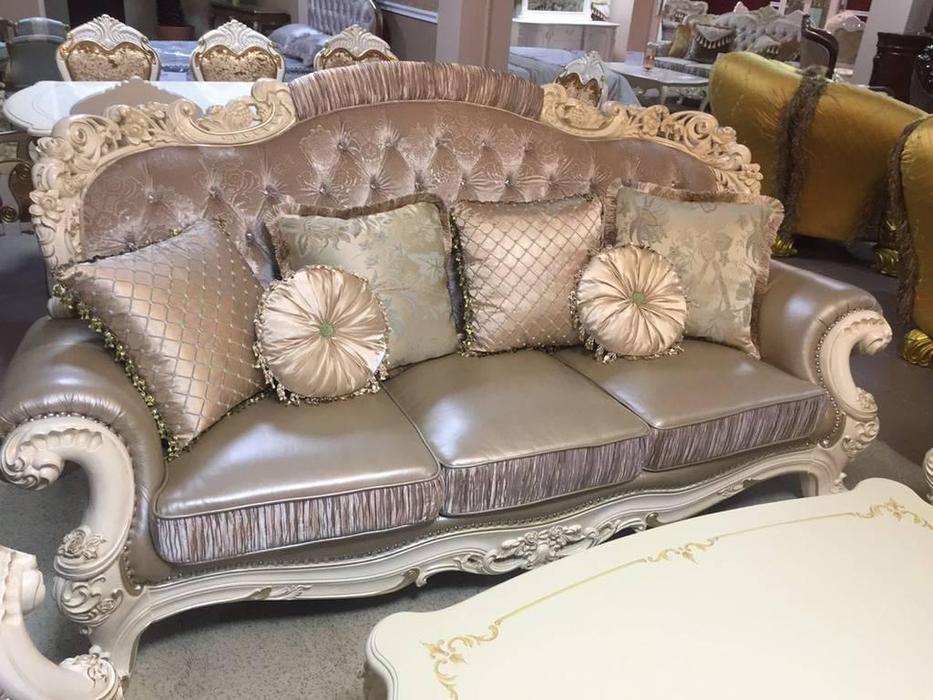 AV: Romano: диван 3-х местный  (аворио, ткань)