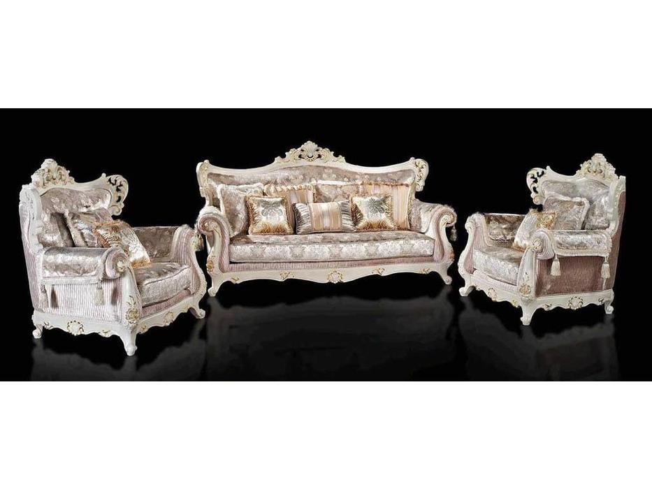 AV: Samson: комплект мягкой мебели  (аворио, ткань)