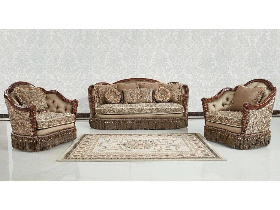 AV: Aristokrat: комплект мягкой мебели  (орех)