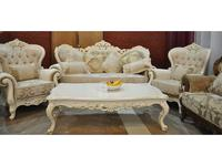 AV: Napoleon: комплект мягкой мебели  (белый, ткань)