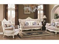 AV: Idalgo: комплект мягкой мебели  (слоновая кость, ткань)