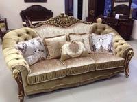AV: Prometey: диван 3 местный  раскладной (орех)