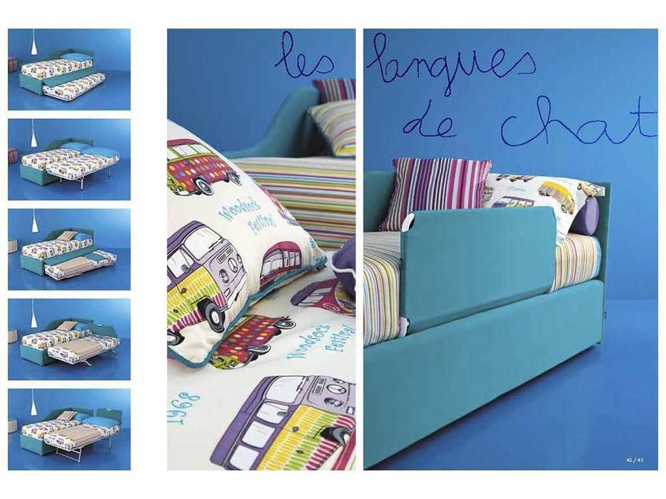 Twils: Maya: кровать 90х200  с дополнительной кроватью (ткань кат.В)