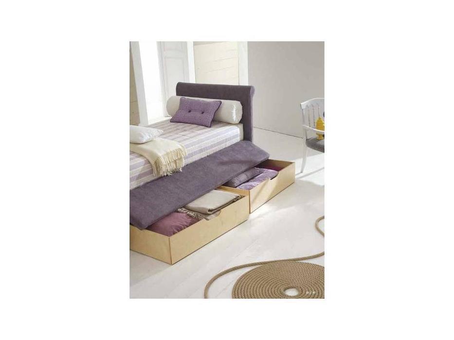 Twils: Camelia: кровать 90х200  с выдвижными ящиками (ткань кат.В)