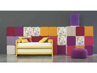 Twils: 2Much: кровать 90х200  с дополнительной кроватью (ткань кат.В)