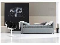 Twils: Camelia: кровать 90х200  с дополнительной кроватью (ткань кат.В)