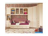 Main Group: Флоренция: кровать с нижней выдвижной кроватью  (крем)